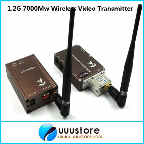 Taiwan 1.3Ghz 7000MW 7W Wireless transceiver,1.3Ghz Video Audio Transmitter Receiver,Long Range FPV CCTV transmitter taiwan 1 3ghz 7000mw 7w wireless transceiver 1 3ghz video audio transmitter receiver long range fpv cctv transmitter
