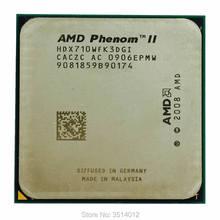 Amd phenom ii x3 710 2.6 ghz processador cpu triplo-núcleo hdx710wfk3dgi soquete am3
