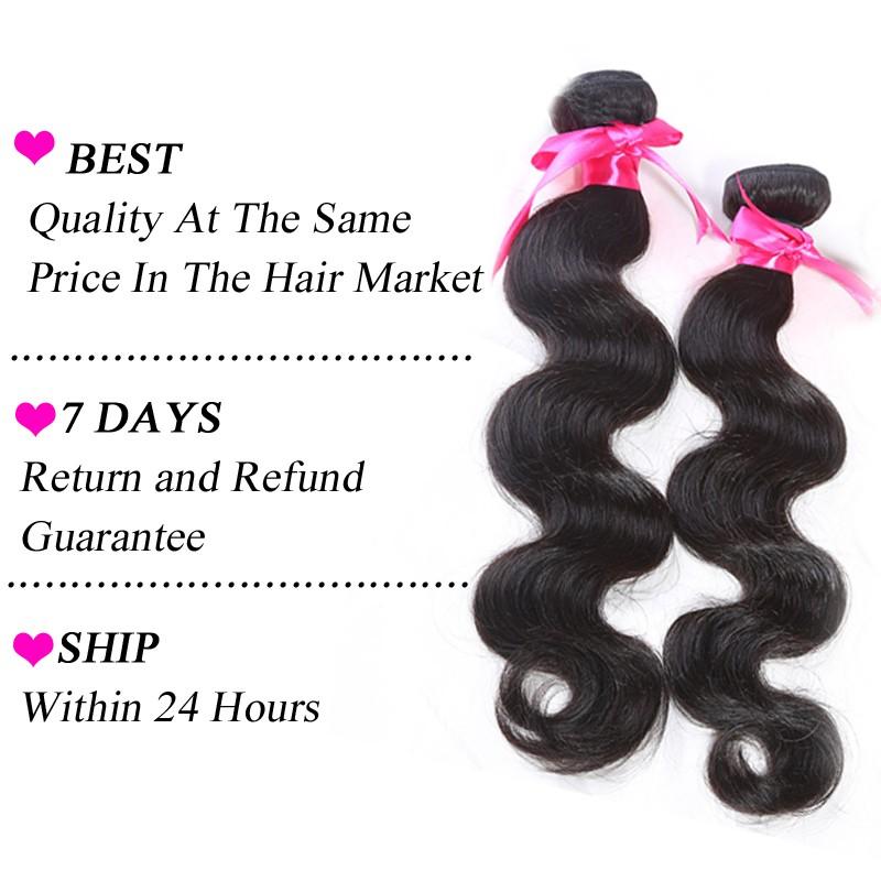 6a brazilian body wave virgin hair
