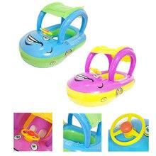 Для детей, на лето ванны Float Toy Портативный надувные Плавание ming круг для купания новорожденных поплавок лодка автомобиль для ребенка Плавание поплавок