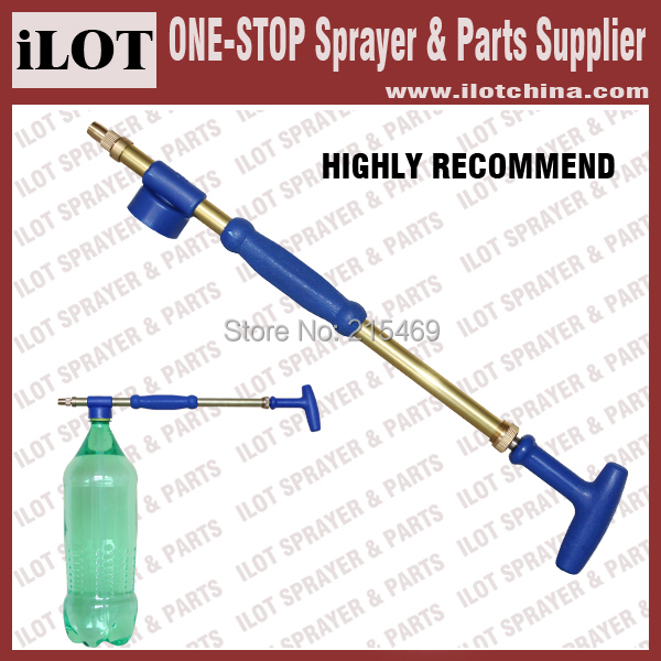 Free shipping-iLOT Brass Flit-style Sprayer for most soda or water bottles for pest control mosquito killing in home and garden