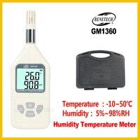 휴대용 디지털 습도 온도 측정기 전문 습도-10 ~ 50C 온도 측정기 GM1360-BENETECH