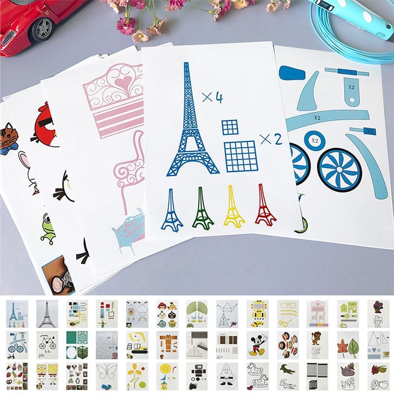 Pen Template Board Special-Paper 3d-Printing Copy 20-Random