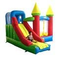 Yard super bouncer inflável casa do salto castelo inflável combo slide inflável com ventilador