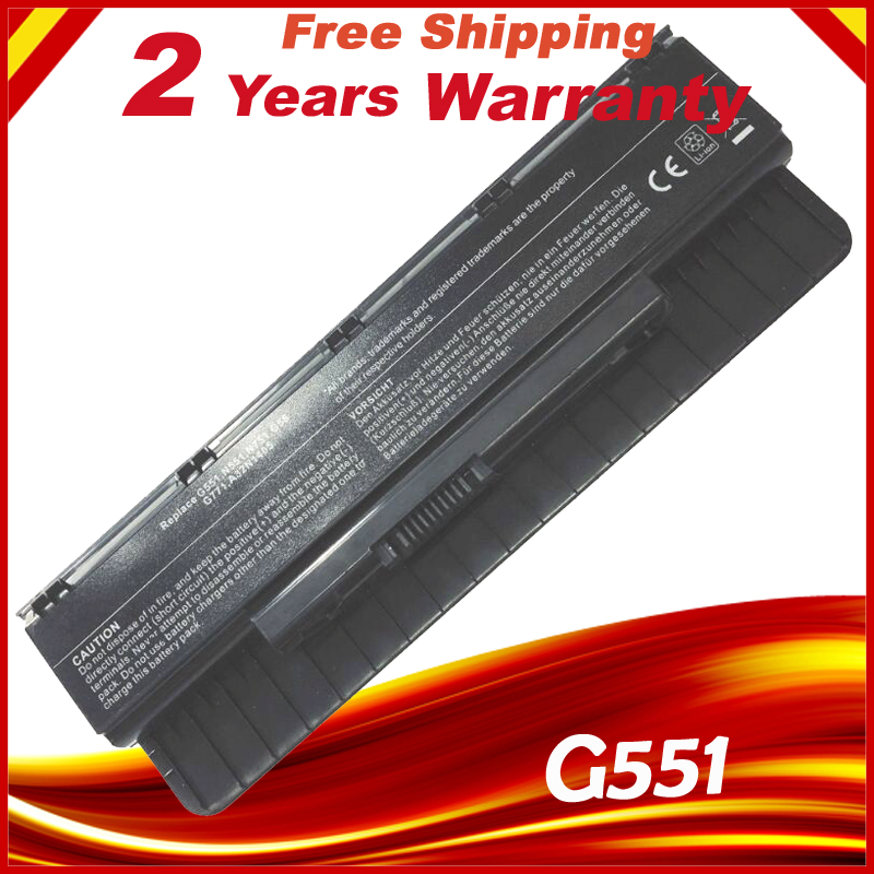 10.8V 56WH A32N1405 New Battery for ASUS ROG N551 N751 N751JK G551 G771 G771JK GL551 GL551JK GL551JM G551J G551JK G551JM G551JW 10 8v 56wh original new laptop battery for asus g551 g58jk g771 g771jk a32n1405 n551
