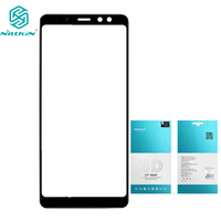 Nillkin 9H 3D CP Max Imported AGC Glass For Samsung Galaxy A8 Plus 2018 Full Coverage
