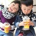 Macio Crianças Bebê Da Menina do Menino Estrelas Impressão Baixada Lenço Lenço Lenço do Inverno Lenços de Bebê Marcas