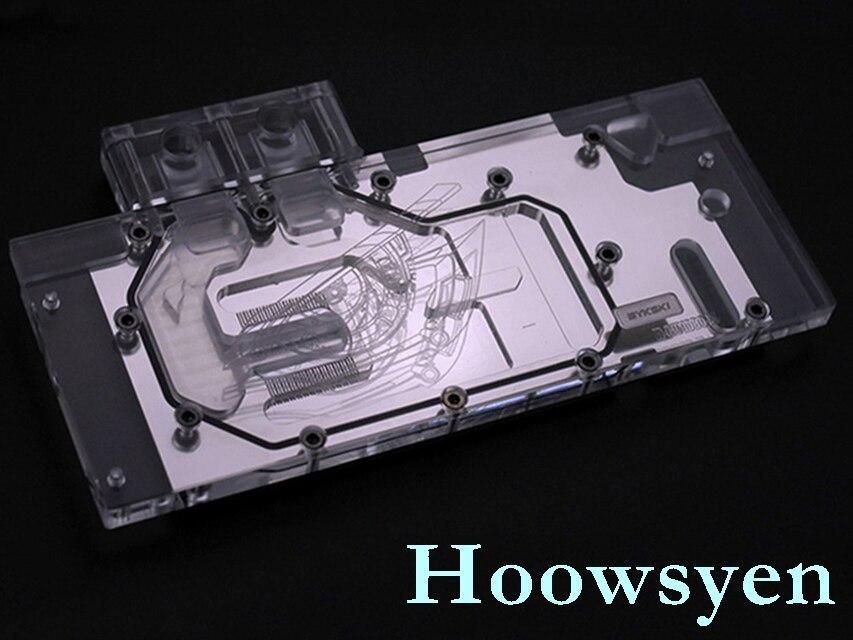N-GV1080G1-X GTX1080G1 GTX1070G1 GAMING water cooling head