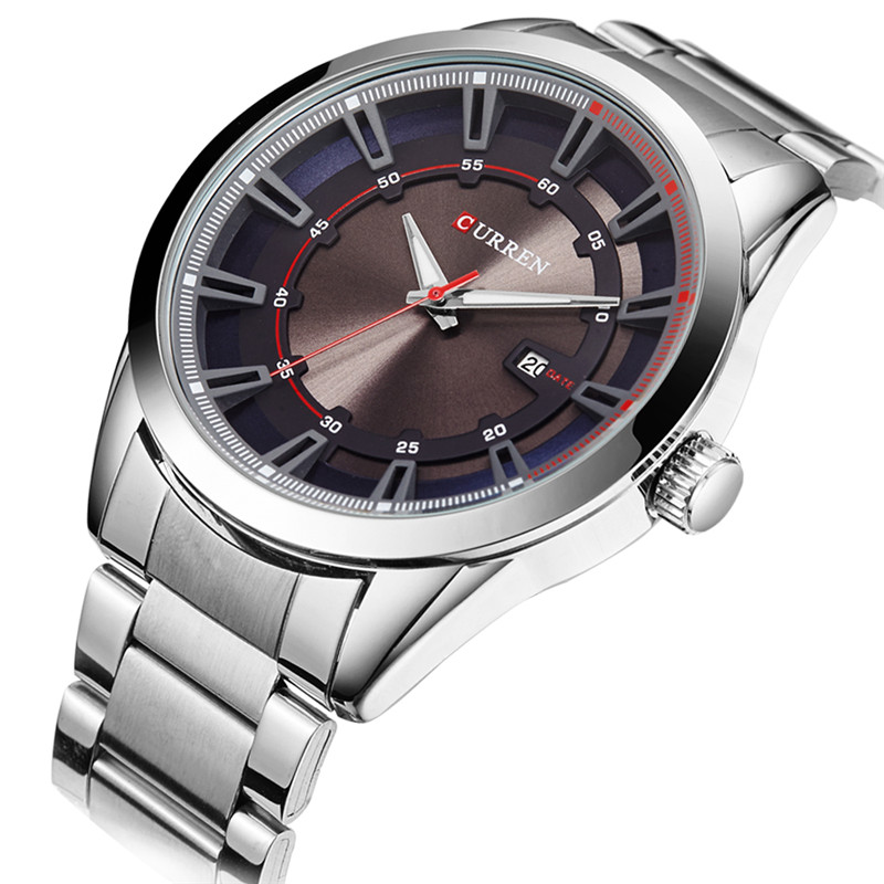 Reloj Hombre Curren Fashion Sport Mens Watches Men Dress Top Brand Luxury Military Quartz Watch Clock Man Relogio Masculino 8246