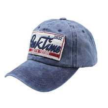 BING YUAN HAO XUAN Spring Cotton Cap Baseball Hat Back Adjustment Summer Hip Hop Style for Man Woman Multicolor