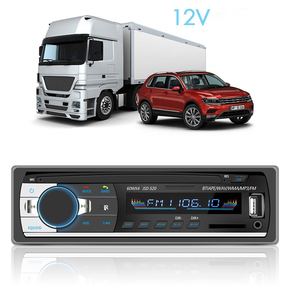 1pc Bluetooth Stereo Subwoofer Auto Radio 1din Digital Fm Tuner Dab Automobile Interior Lights Fader Adapter For Car Pioneer Receiver Player Mp3 Usb Sd In Radios From
