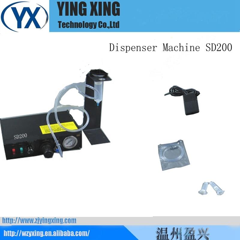 SD200 Semi-automatic Glue Doming Machine Glue Equipment