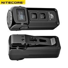 NITECORE mini latarka TUP na akumulator USB, CREE XP L HD V6, max 1000 LM, odległość wiązki 180 m, rewolucyjna inteligentna latarka EDC