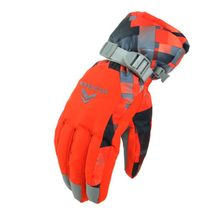 Children Skiing Gloves Waterproof Windproof Non-slip Snow Skating Gloves Thick Warm Gloves Mittens for Winter Sports &7 hot sale(China)