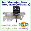 CCD Car Vista Trasera Inversa Cámara aparcamiento espectador copia de seguridad del monitor de sensor de aparcamiento cámara trasera trasera Para Mercedes Benz Vito Viano