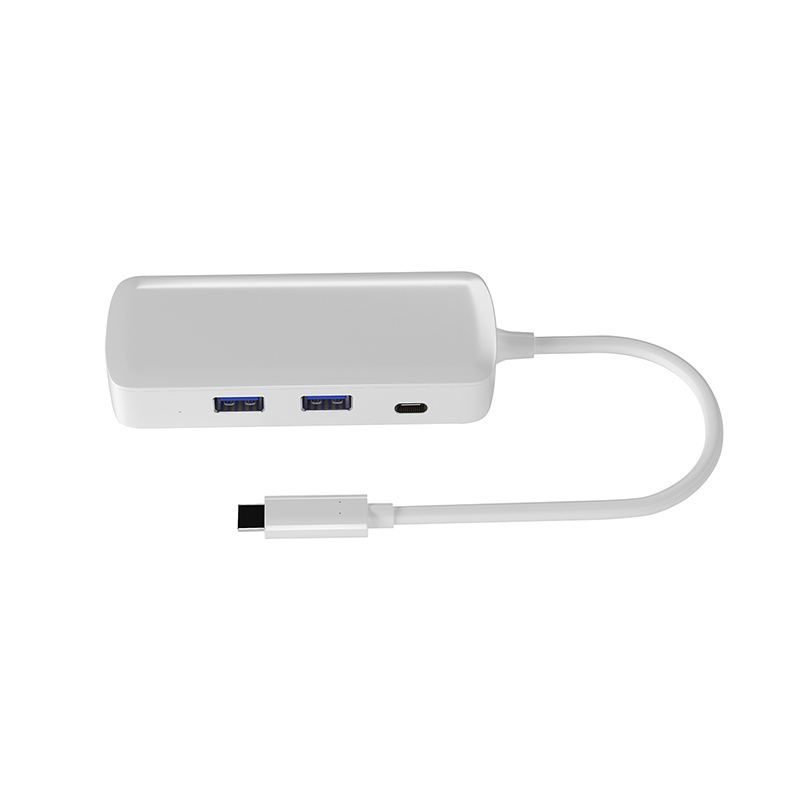 4 in 1 USB-C Hub USB 3.1 Type C to 4K 1080P HDMI PD Charging 2 USB 3.0 Splitter Adapter Converter for MacBook Type-C HUB