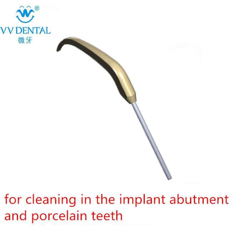 Pontas ultrassônicas do scaler dental que limpam a ponta da prótese para o handpiece original do ems para o implante e os dentes da porcelana