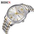 2016 Relógios homens marca de luxo Assistir BIDEN 1001 Digital de quartzo relógios de pulso homens dive 30 m Moda Casual assista relogio masculino