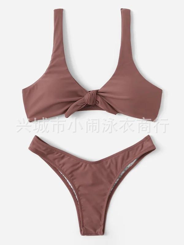 New Bowknot Bikini Swimsuit Bathing Suit