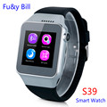 New Fashion S39 Bluetooth Smart Watches Plug SIM Card Independent Phone Counting Step Motion Smart Phone Watch