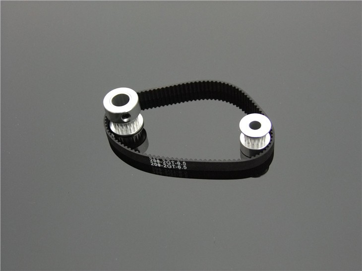 Fine Quality Black Rubber 2GT-6 232mm Perimeter Timing Belt 6mm Width Closed Loop Synchronous Belt Transmission Accessories 6