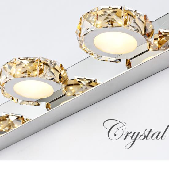 Washbasin wall light Bathroom mirror Headlight Dresser lamp Make-up table lamp Bathroom mirror lamp Toilet wall lamp wl4191727