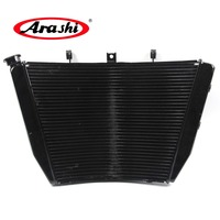Arashi For SUZUKI GSXR1000 09 16 GSXR 1000 GSXR 1000 Radiator Cooler Motorcycle Cooling Parts Aluminum Engine Water Cooling