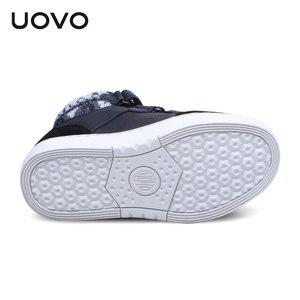 Image 5 - UOVO ฤดูหนาวรองเท้าผ้าใบเด็กแฟชั่นกีฬารองเท้าสำหรับเด็ก Big Boys And Girls รองเท้าขนาด 30 # 39 #