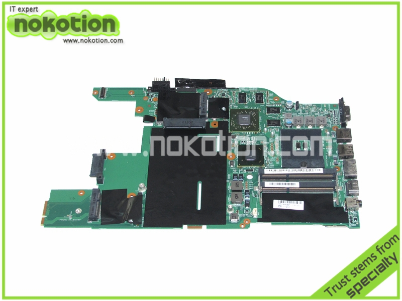 все цены на  NOKOTION 04W0466 04W0724 for Lenovo E520 laptop motherboard HM65 ATI HD6630M DDR3 100% Full Tested  онлайн