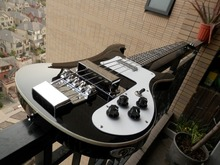 Chinese Musical instruments Factory Custom black Bass Guitar 4 Strings 4003 Rick Electric Bass In Stock 315