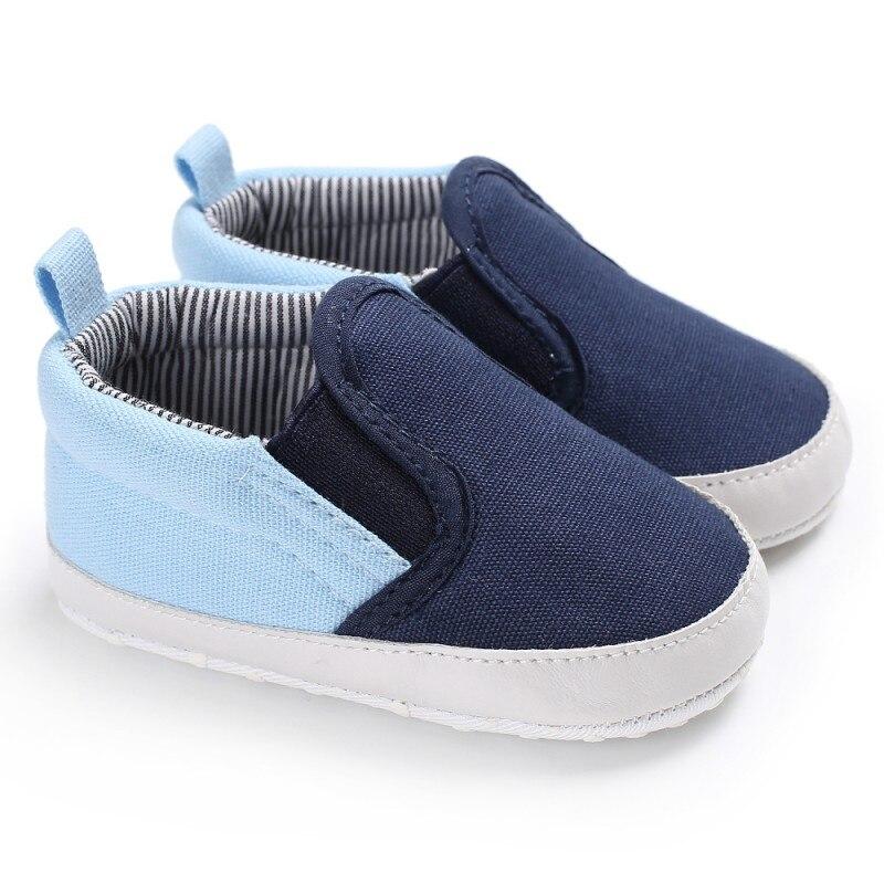 Canvas First Walker Cartoon Baby Boy Girls Shoes Bebe Toddler Moccasins 0-24M Non-slip Soft Bottom Shoes