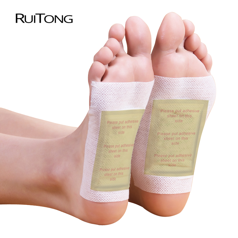 200 Piece=100pcs Patches+100 Pcs Adhesives Detox Foot Patch Vinegar Pad Improve Sleep Beauty Slimming Patch Loss Weight
