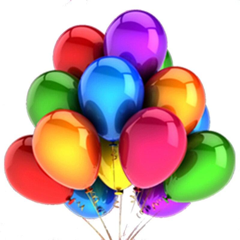 10 шт./12 дюймов, латексные надувные гелиевые шары