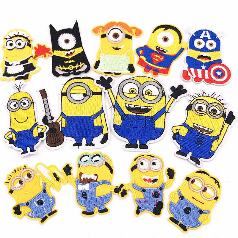 Detail Feedback Questions About 1pcs Minions Cartoon Iron On Patches