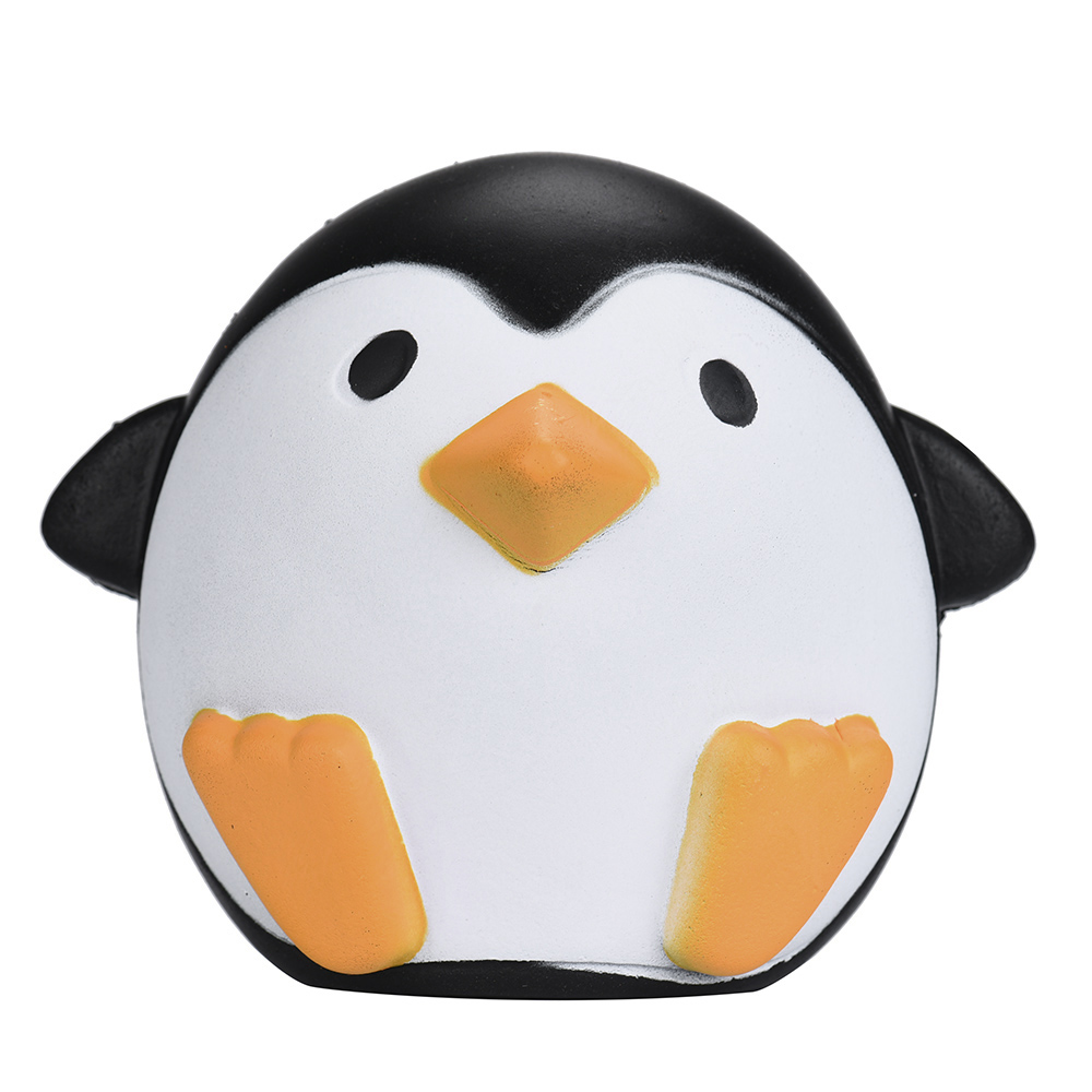 Baby Animal Stress Relief Toys 11.5CM Cute Cartoon Antarctic Penguin Squishy Toy Slow Rising Soft Funny Squeeze Kids Toys Gift