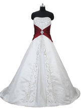 Bealegantom 2018 New Sexy Sweetheart Embroidery Wedding Dresses Lace Up Bridal Gowns Vestido De Novia QA1429