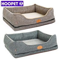 Hoopet Dog Bed Small Dog Detachable Cat Supplies Cushion Non Stick Hair Pet House
