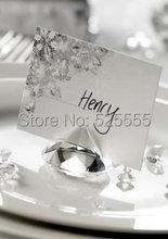 Free shipping 50pcs lot shinning 40mm crystal glass diamond font b wedding b font font b