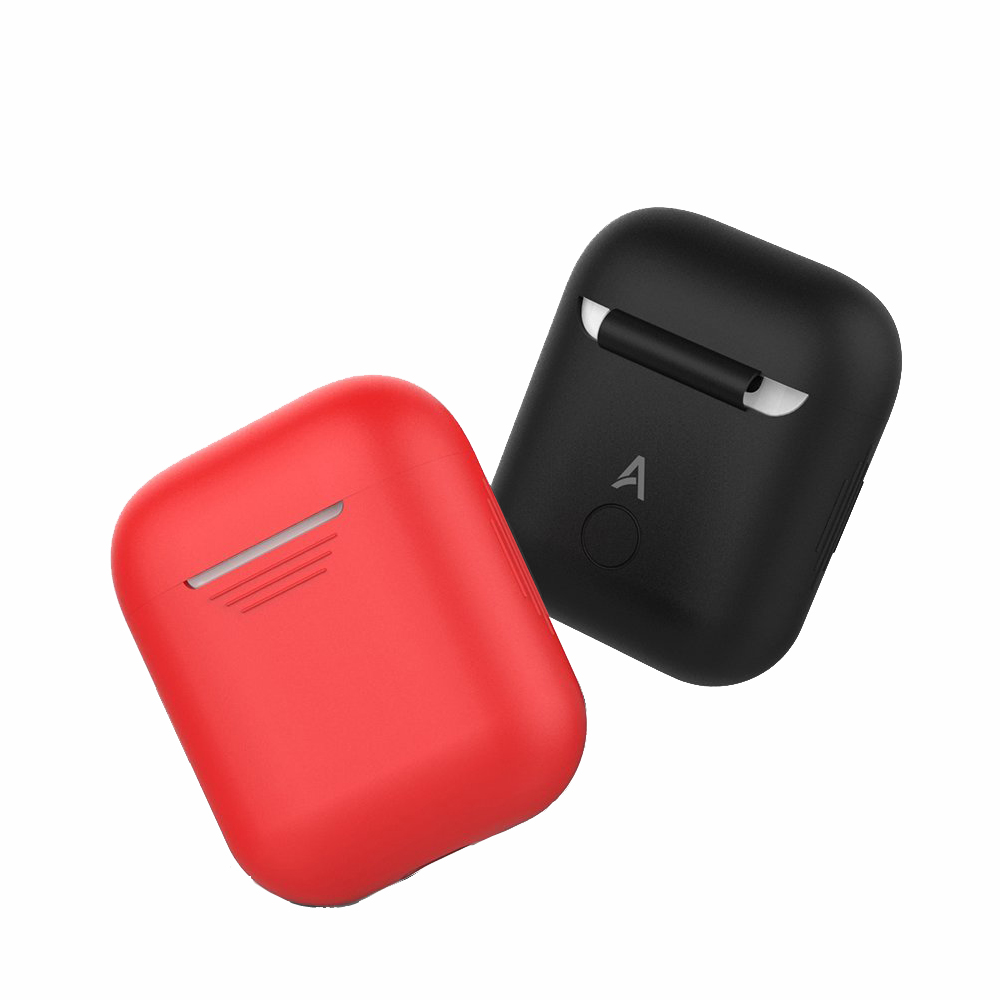 Silicone Case for Apple Airpods Air Pods Protective Cover Pouch Anti Lost Protector Elegant Sleeve Protector Box Accessories