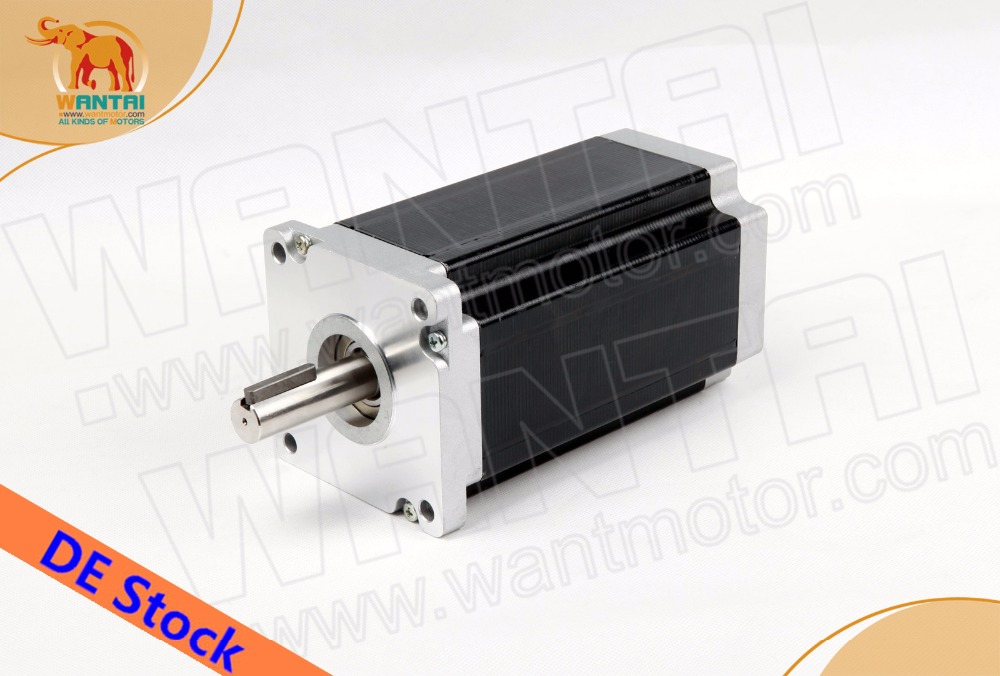 [EU FREE&Germany stock]! Wantmotor Nema42 Stepper Motor 110BYGH201-001 4200oz-in 8.0A 201mm CE ROHS ISO Metal Embroider  Imaging