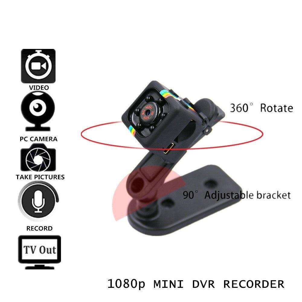 ộ_ộ ༽SQ11 mini cámara CAM HD 1080 p visión nocturna infrarroja ...