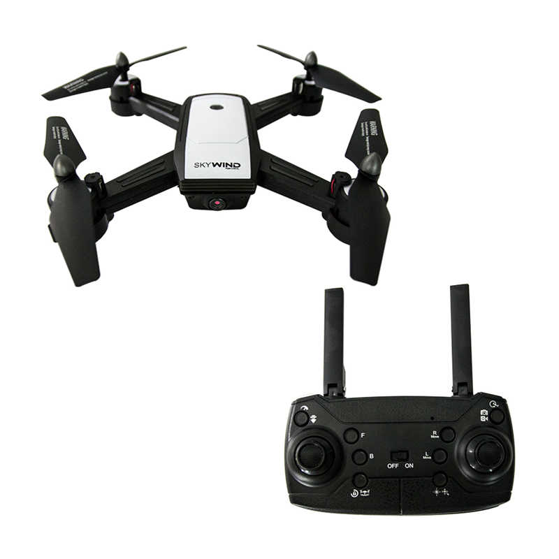 Jdrc JD-X34F Wifi FPV dengan 2MP Dual Kamera Optical Flow Posisi Lipat RC Drone Quadcopter RTF