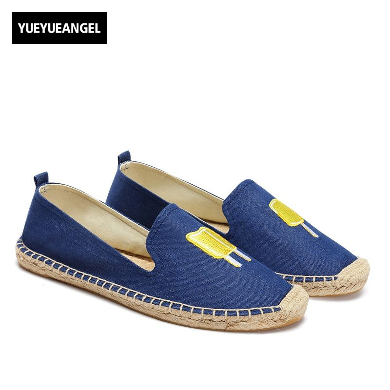 New Fashion Women Shoes Slip On For Women Autumn Casual Canvas Shoes Comfortable Breathable Driving Loafers Free Shipping Blue women s shoes 2017 summer new fashion footwear women s air network flat shoes breathable comfortable casual shoes jdt103
