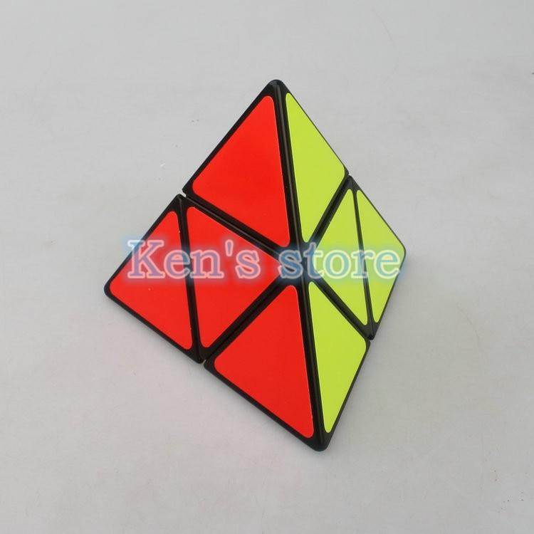 Shengshou 2x2x2 Triangle Pyramid Pyraminx Puzzle Cube Pyramorphinx Puzzle Speed Puzzle Cubes Cubo Magico Educational Toys