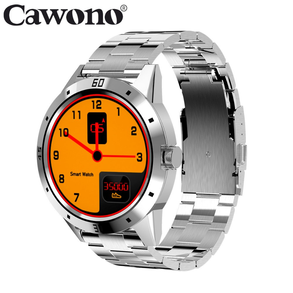 Cawono CN8 Sport 1.3 Smartwatch Heart Rate Sleep Monitor Smart Watch Fitness Tracker Men Wristwatch for IOS Android PK N3 Band