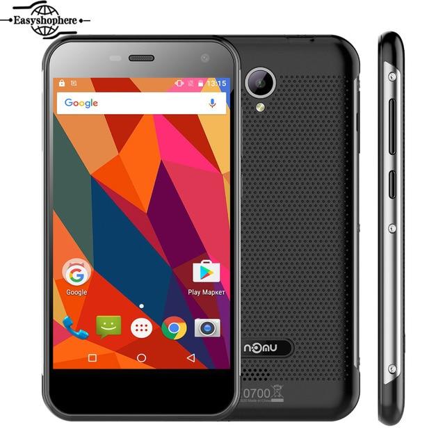 "5.0"" Nomu S20 Mobile Phone MTK6737T Quad Core 3G RAM 32G ROM Smartphone 4G Lte 3000mAh 13.0MP 1280x720 Waterproof OTG Celular"