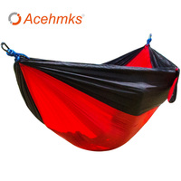 Portable Outdoor Hammock Garden Camping Sports Home Travel Garden Hang Bed Double Person Leisure Travel Parachute