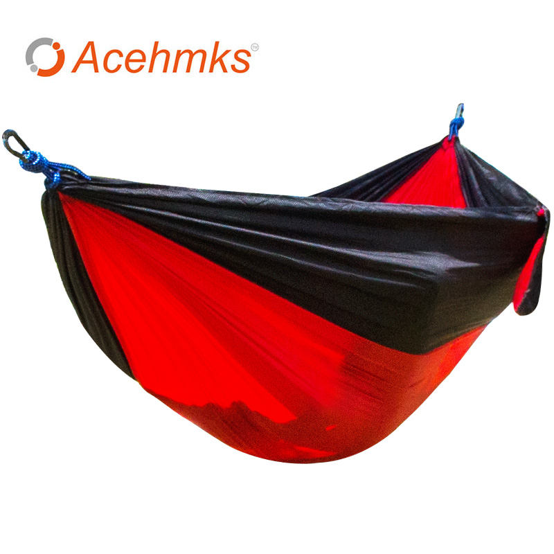 Portable Outdoor Hammock Garden Camping Sports Home Travel garden Hang Bed Double Person Leisure travel Parachute Hammocks camping hiking travel kits garden leisure travel hammock portable parachute hammocks outdoor camping using reading sleeping