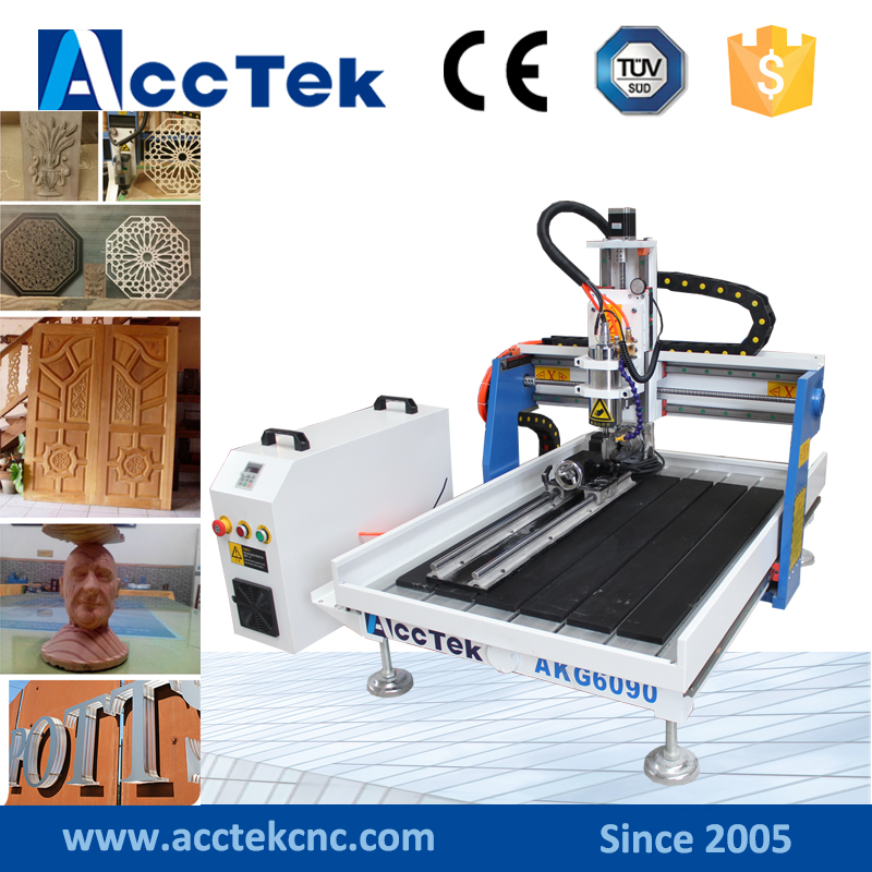 2017 small size mini cnc engraver 6090 wood router for sale  цены