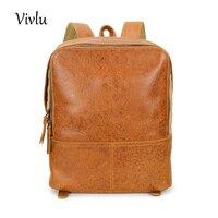 Женские кожаные рюкзаки школьные сумки для девочек подростков путешествия моды небольшой рюкзак дамы Bagpack Mochila BG 063